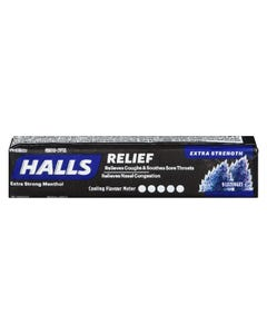 Halls Extra Strong Menthol 9CT