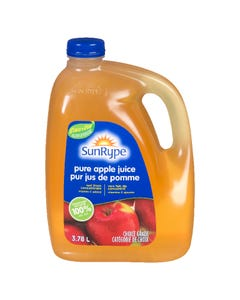 Sun Rype Pure Apple Juice 3.78L
