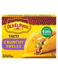 Old El Paso Crunchy Taco Shells 12CT 125G