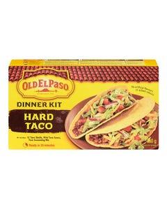 Old El Paso Dinner Kit Hard Taco 250G