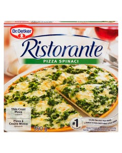 Dr. Oetker Ristorante Thin Crust Pizza Spinach 390G