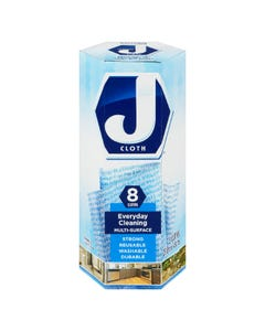 J Cloth Everyday Cleaning Multi-Surface 8CT