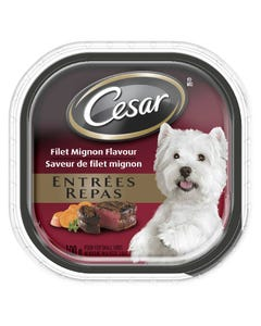 Cesar Filet Mignon Flavour Classic Loaf in Sauce Dog Food 100G