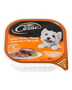 Cesar Grilled Chicken Flavour Classic Loaf in Sauce Dog Food 100G