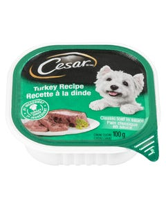 Cesar Turkey Recipe Classic Loaf in Sauce Dog Food 100G