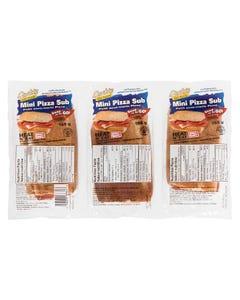 Quality Fast Foods Mini Pizza Sub 3PK 510G