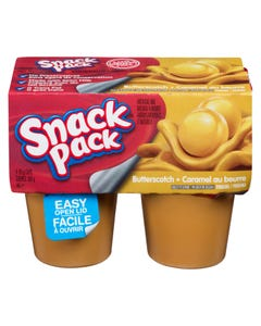 Snack Pack Pudding Butterscotch 4x99g