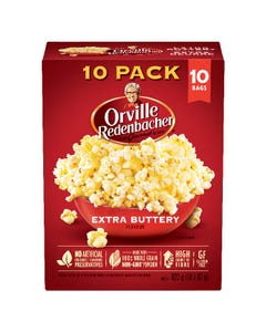 Orville Redenbacher Popcorn Extra Buttery 10ct 820g
