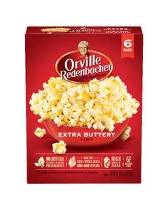 Orville Redenbacher Extra Buttery Popcorn 6CT 492G