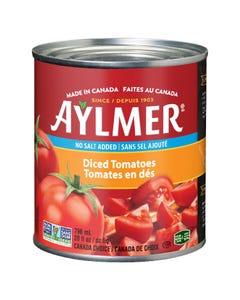 Aylmer Diced Tomatoes No Salt Added 796ML