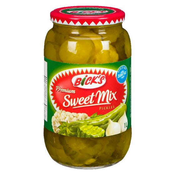 Bicks Sweet Mix Pickles 1L