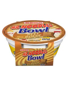 Mr Noodles Bowl Beef 110g