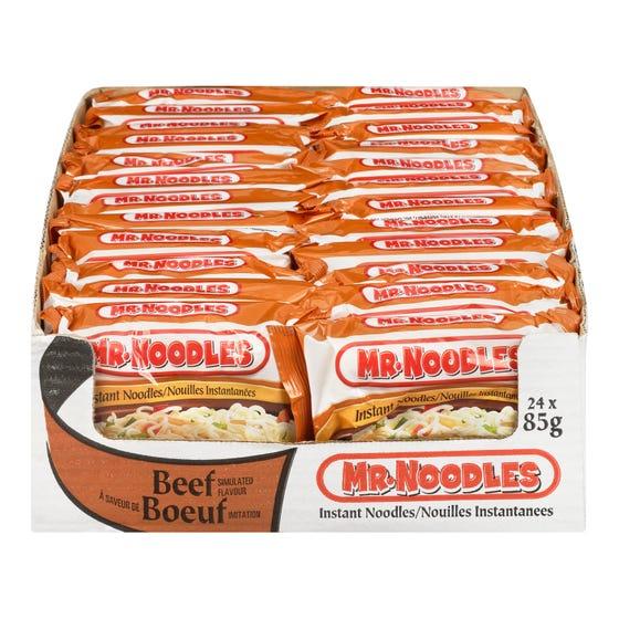 Mr Noodles Nouilles Instantanées Boeuf 85G