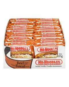 Mr. Noodles Beef Case 24X85G