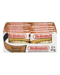 Mr. Noodles Instant Noodles Beef 12X85G