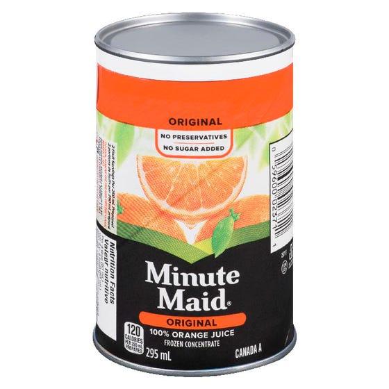 Minute Maid Frozen Orange Juice 295ml