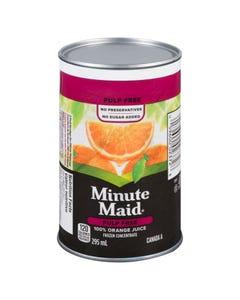 Minute Maid Pulp Free 100% Orange Juice 295ML