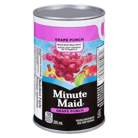 Minute Maid Frozen Grape Punch 295ml