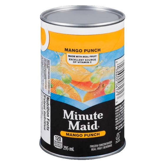 Minute Maid Punch aux Mangues 295ML