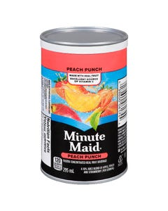 Minute Maid Peach Punch Frozen Concentrate 295ML