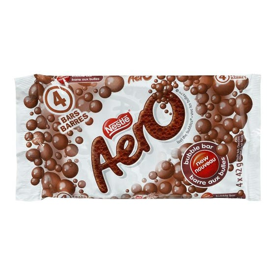 Nestle Aero Chocolat Cello 4X42G