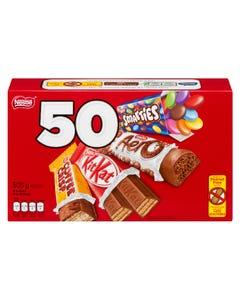 Nestle Mini Bars 50CT 505G