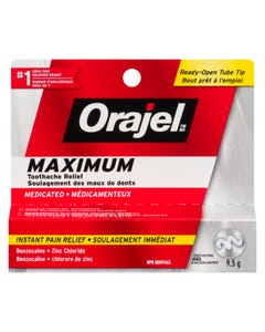 Orajel Toothache Pain Relief Extra Strength 9.5g