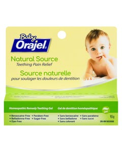 Orajel Baby Homeopatic Gel 9.5g