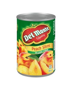 Del Monte Peach Slices Fancy 398ML