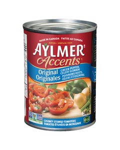 Aylmer Accents Original Chunky Stewed Tomatoes 540ML
