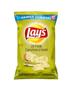 Lays Potato Chips Dill Pickle 235G