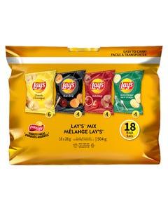 Frito Lay Lay's Mix 18CT 504G