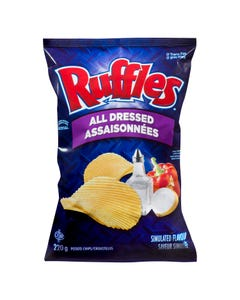 Ruffles Chips All Dressed 200g