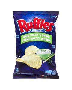 Ruffles Sour Cream and Onion 200g