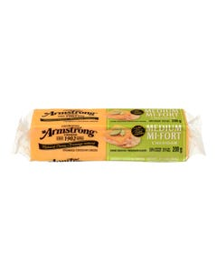 Armstrong Medium Cheddar Cheese 200g