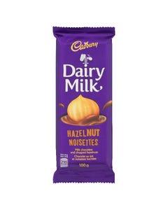 Cadbury Dairy Milk Hazelnut Bar 100G