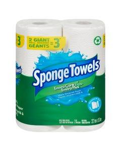 SpongeTowel Envirocare 2 Giant Rolls