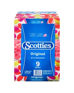 Scotties Original 2 Ply Tissues 9CT