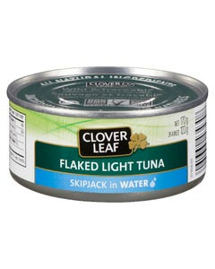 Clover Leaf Flaked Light Tuna in Water 170G