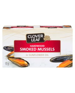 Clover Leaf Hardwood Smoked Mussels 85G