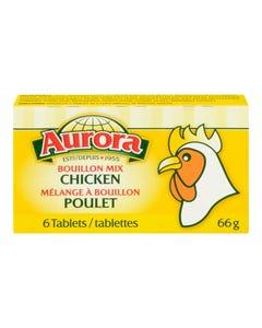 Aurora Bouillon Mix Cubes Chicken 66g