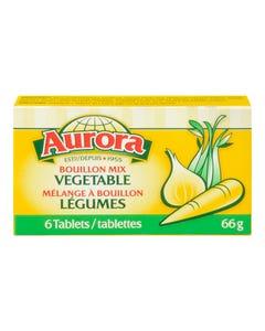 Aurora Bouillon Mix Cubes Vegetable 66g