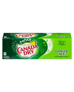 Canada Dry Ginger Ale 12x355ml