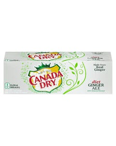 Canada Dry Diet Ginger Ale 12X355ML