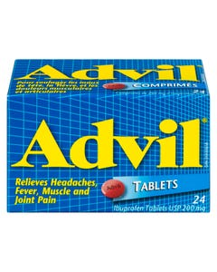 Advil Tablets 200mg 24ct