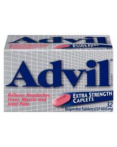 Advil Extra Strength 400MG Caplets 32CT