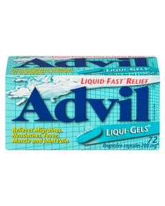 Advil Liqui-Gels 200MG Capsules 72CT