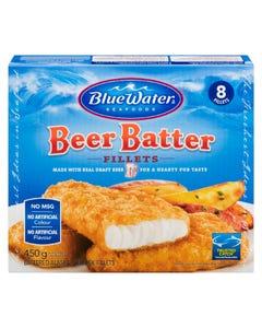 BlueWater Beer Batter Fillets 450G