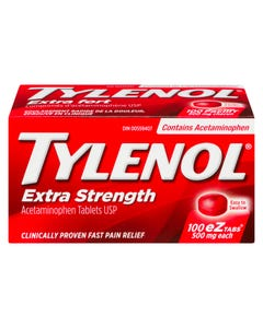 Tylenol Extra Strength EZ Tabs 100ct