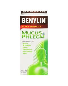 Benylin Extra Strength Mucus Phlegm Relief 100ml